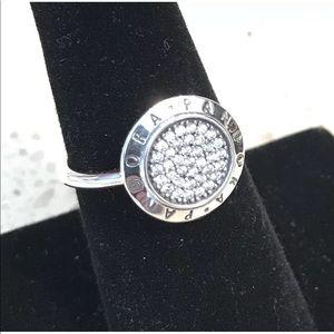 Pandora Signature Pave Ring #190912CZ